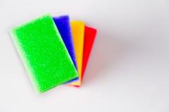 Καθαρίζοντας, πλένοντας, ζωηρά χρώματα Στοκ Εικόνες