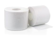 καθαρίζοντας τουαλέτα προϊόντων εγγράφου βασικής υγιεινής Στοκ εικόνες με δικαίωμα ελεύθερης χρήσης