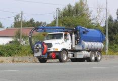 Καθαρίζοντας όχημα λυμάτων Στοκ Εικόνα