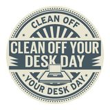 Καθαρίστε την ημέρα γραφείων σας απεικόνιση αποθεμάτων