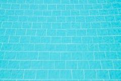Καθαρίστε το νερό στην πισίνα Στοκ Φωτογραφία