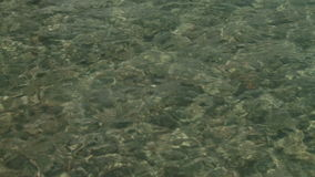 Καθαρίστε το νερό της λίμνης Lago Epuyen απόθεμα βίντεο