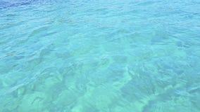 Καθαρίστε το νερό του ωκεανού Τοπ όψη στοκ εικόνα με δικαίωμα ελεύθερης χρήσης