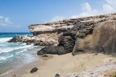 Καθαρισμένη Λα παραλία, Fuerteventura Στοκ εικόνα με δικαίωμα ελεύθερης χρήσης