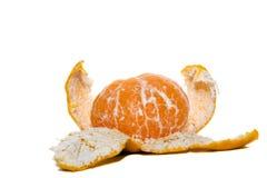 καθαρισμένο πορτοκάλι Στοκ Φωτογραφία