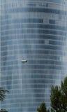 Καθαρισμός γυαλιού πύργων Στοκ Εικόνες