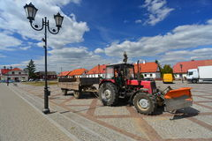 Καθαρισμός οδών Στοκ Φωτογραφίες