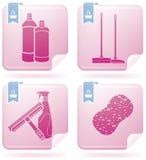 καθαρισμός συσκευών διανυσματική απεικόνιση