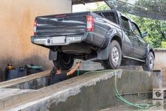 Καθαρισμός του αυτοκινήτου Στοκ Φωτογραφίες