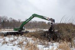 Καθαρισμός του ποταμού Pekhorka Στοκ Εικόνα