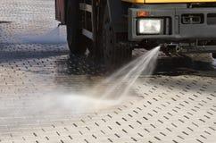 καθαριστής πόλεων Στοκ φωτογραφίες με δικαίωμα ελεύθερης χρήσης