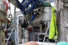 Καθαροί έλεγχοι αλιευτικών σκαφών Στοκ Φωτογραφίες