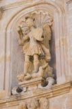 καθαρτήριο apulia church colle del palo $matera Βασιλικάτα Ιταλία Στοκ Εικόνες