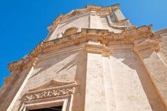 καθαρτήριο apulia church colle del palo Polignano μια φοράδα Πούλια Ιταλία Στοκ φωτογραφία με δικαίωμα ελεύθερης χρήσης