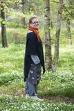 Καθαρός αέρας στο δάσος Στοκ φωτογραφία με δικαίωμα ελεύθερης χρήσης