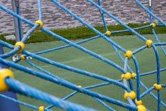 Καθαρός από το μπλε σχοινί Στοκ φωτογραφίες με δικαίωμα ελεύθερης χρήσης
