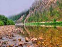 καθαρός ποταμός Στοκ εικόνα με δικαίωμα ελεύθερης χρήσης