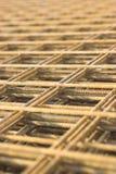 καθαρός σκουριασμένος σιδήρου Στοκ Εικόνες