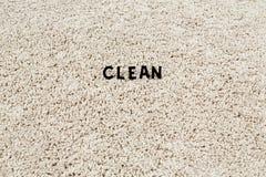 Καθαρός τάπητας Στοκ Φωτογραφίες