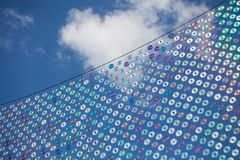 Καθαρός των παλαιών CD και DVDs, νεφελώδης ουρανός Στοκ φωτογραφίες με δικαίωμα ελεύθερης χρήσης