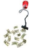 καθαρότερα δολάρια έννοι& Στοκ φωτογραφία με δικαίωμα ελεύθερης χρήσης