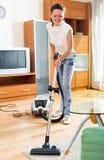 καθαρότερη κενή γυναίκα Στοκ Εικόνες