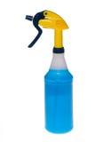 καθαρότερος ψεκασμός μπουκαλιών στοκ εικόνες