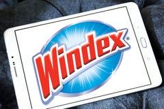 Καθαρότερο λογότυπο εμπορικών σημάτων Windex στοκ φωτογραφίες με δικαίωμα ελεύθερης χρήσης