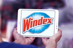 Καθαρότερο λογότυπο εμπορικών σημάτων Windex στοκ φωτογραφία με δικαίωμα ελεύθερης χρήσης