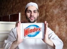 Καθαρότερο λογότυπο εμπορικών σημάτων Windex στοκ φωτογραφίες