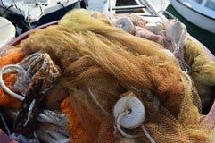Καθαρό δίχτυ επιφανείας Fising Στοκ Φωτογραφίες