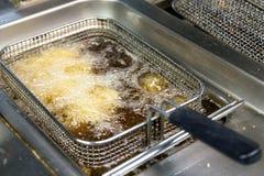 Καθαρό βαθύ fryer Στοκ φωτογραφία με δικαίωμα ελεύθερης χρήσης