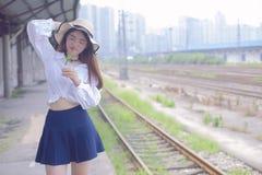 Καθαρό και καλό ασιατικό κορίτσι στοκ φωτογραφία με δικαίωμα ελεύθερης χρήσης