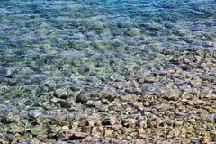 Καθαρό νερό κρυστάλλου Στοκ Εικόνα