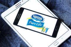 Καθαρό λογότυπο ζωής της Nestle Στοκ Εικόνες