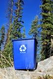 καθαρό περιβάλλον δοχείων ανακύκλωσης Στοκ εικόνες με δικαίωμα ελεύθερης χρήσης