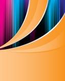 καθαρό πορτοκάλι ανασκόπ&et Ελεύθερη απεικόνιση δικαιώματος