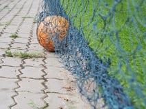 καθαρό ποδόσφαιρο σφαιρώ&nu στοκ εικόνα με δικαίωμα ελεύθερης χρήσης
