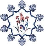 καθαρό σχέδιο Οθωμανός πα Στοκ Εικόνα