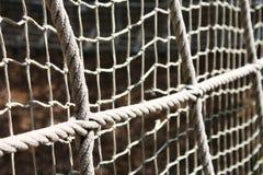 καθαρό σχοινί Στοκ Φωτογραφίες