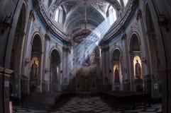 Καθαρό φως στον καθεδρικό ναό Στοκ φωτογραφία με δικαίωμα ελεύθερης χρήσης
