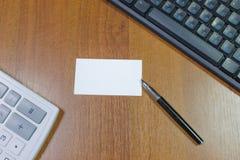 Καθαρό φύλλο σε έναν πίνακα στοκ εικόνες με δικαίωμα ελεύθερης χρήσης