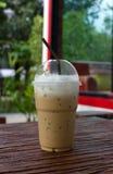 Καθαρό φλυτζάνι του καφέ πάγου. Στοκ εικόνες με δικαίωμα ελεύθερης χρήσης