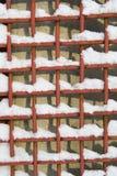 καθαρό χιόνι μετάλλων Στοκ φωτογραφίες με δικαίωμα ελεύθερης χρήσης