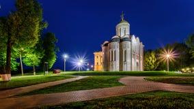 Καθεδρικός ναός Αγίου Demetrius στο Βλαντιμίρ στοκ εικόνα