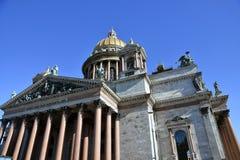 Καθεδρικός ναός Αγίου isaacs σε Άγιο Πετρούπολη, Ρωσία στοκ εικόνα με δικαίωμα ελεύθερης χρήσης