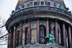 Καθεδρικός ναός Αγίου isaacs σε Άγιο Πετρούπολη, Ρωσία στοκ φωτογραφίες με δικαίωμα ελεύθερης χρήσης