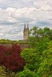 Καθεδρικός ναός Αγίου Maurice της Angers στην κοιλάδα της Loire της Γαλλίας Στοκ φωτογραφίες με δικαίωμα ελεύθερης χρήσης