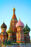 Καθεδρικός ναός βασιλικού του ST στη Μόσχα. Στοκ Φωτογραφία