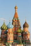 Καθεδρικός ναός βασιλικού ` s Αγίου στη Μόσχα, κόκκινη πλατεία στοκ εικόνα
